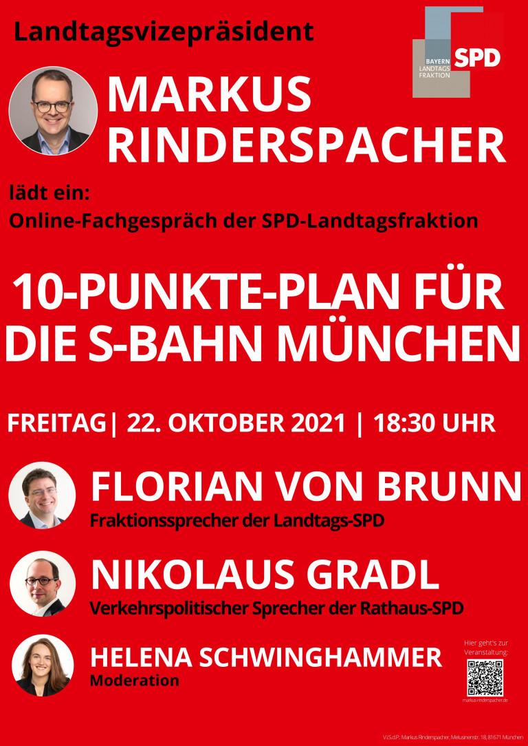 10-Punkte-Plan für die S-Bahn München